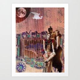 Cirque de la Lune, Pt. 2 Art Print