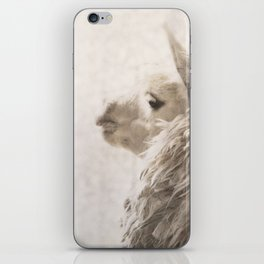 Magical White Alpaca iPhone Skin