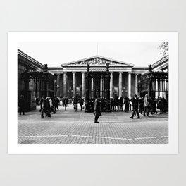 British Museum - Entrance Art Print