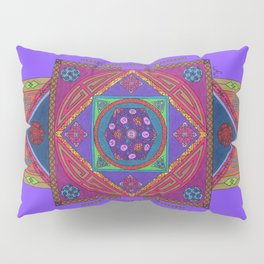 Just Another Roll of the Dice (Blue) Pillow Sham