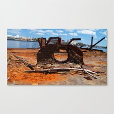 Rust Portal Canvas Print