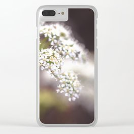 Cow Parsley II Clear iPhone Case