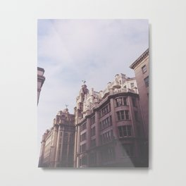LIFA Of Liverpool Metal Print