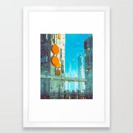 THIRTY-FIVE (everyday 06.20.16) Framed Art Print