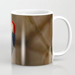 Red-Bellied Woodpecker Drumming Coffee Mug