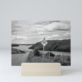Passing Place Mini Art Print