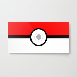 Gotta Catch'em All Metal Print