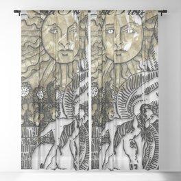 Glamour Tarot The Sun Sheer Curtain