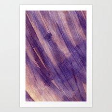 wet layers on wet Art Print