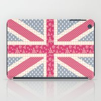 england iPad Cases featuring England Love by Pink Berry Patterns