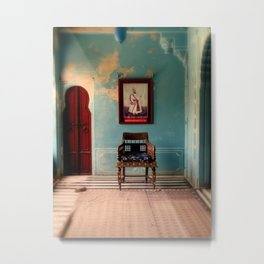 Room in an Indian Palace Metal Print