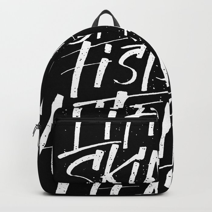 lift your skinny fists Backpack