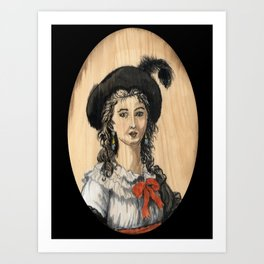 le Brun Art Print