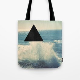 Where The Ocean Meets The Sky Tote Bag