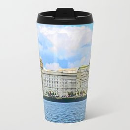 Liverpool Water Front Travel Mug