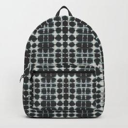 Black Shibori Backpack