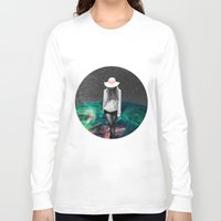 alone Long Sleeve T-shirts featuring Alone by Cs025