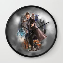 The Eleventh Doctor Wall Clock
