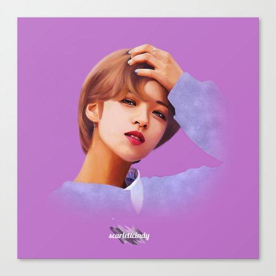 Jeongyeon - Twice (TT) Canvas Print