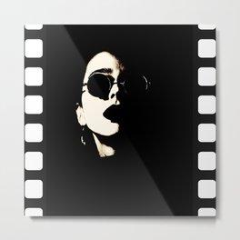 Movie tape Metal Print