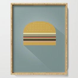 Burger Serving Tray