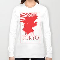 "tokyo Long Sleeve T-shirts featuring ""Tokyo"" by ICECREAM ROBOT"