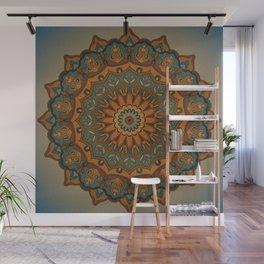 Moroccan sun Wall Mural