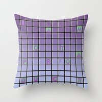 nope Throw Pillows featuring nope by gasponce