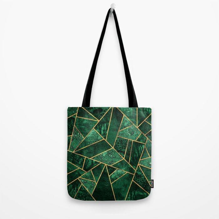 Deep Emerald Tote Bag