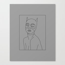 Cat Issues Canvas Print