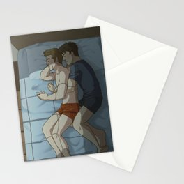 Sleeping McKirk Stationery Cards