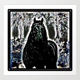 Freshtastic Horse Paintings 11-03 Art Print