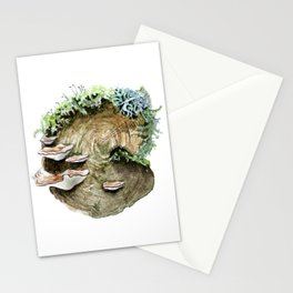 Mossy Log Stationery Cards