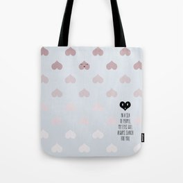 SEA OF HEARTS Tote Bag