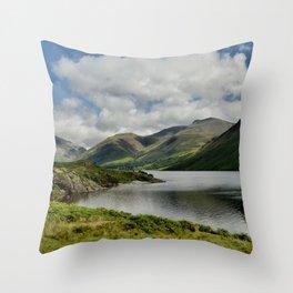 Wastwater Lake District Throw Pillow