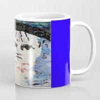 les miserables Mugs featuring LES MISERABLES by JANUARY FROST