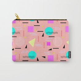 Memphis Forever - Peach Carry-All Pouch