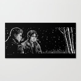 Dead Winter Canvas Print