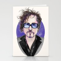 tim burton Stationery Cards featuring TIM BURTON by VINCE