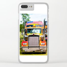 Kenworth icon 900 Clear iPhone Case