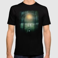 End of the Road X-LARGE Black Mens Fitted Tee