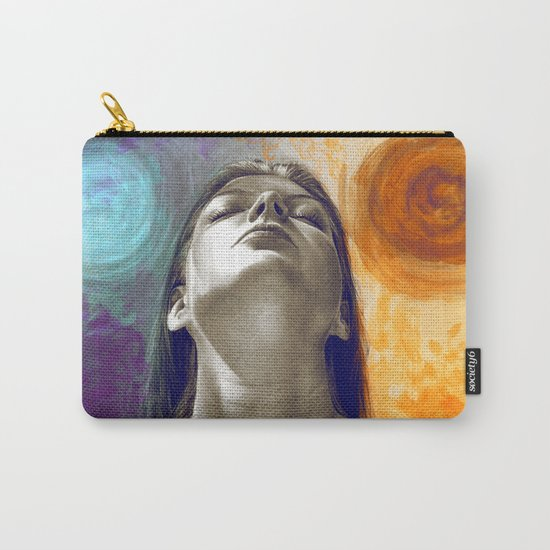 Equilibrum - retouched drawing Carry-All Pouch