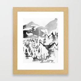 Fraser Canyon Framed Art Print