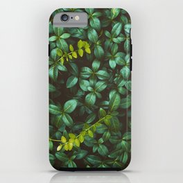 green obsession iPhone Case