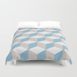 Boxed Up Duvet Cover