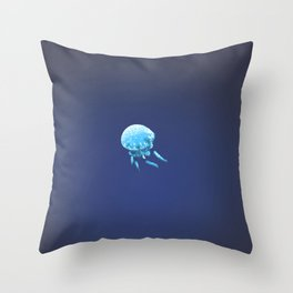 Blue Wonder Throw Pillow