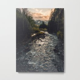 The Sandy River II Metal Print