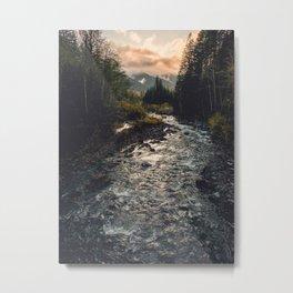 The Sandy River II Metal Print