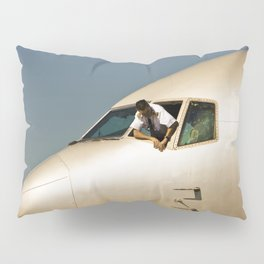 HEY! Can You Check the Oil Too? Pillow Sham