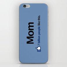 I Like Mom iPhone & iPod Skin